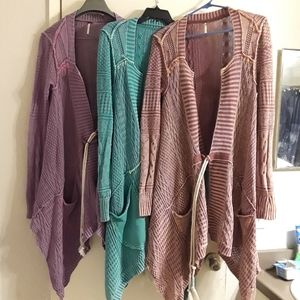 Free People Sweaters - * SOLD * NWOT Free People All Washed Out Cardi L